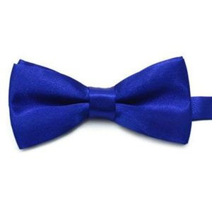 Other - 🎉3 for $24 Boys Dark Blue Satin Bowtie adjustable